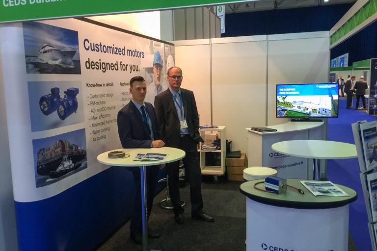 CEDS DURADRIVE auf der TOC 2019 und Electric & Hybrid Marine Amsterdam